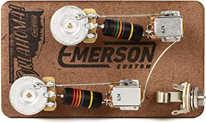 Amazon.com: Emerson Custom Prewire Kit for Gibson Les Paul Guitars - Long  Shaft: Musical InstrumentsAmazon.com