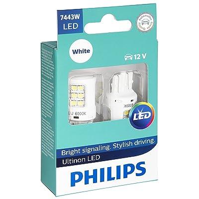 Philips 7443 Ultinon LED Bulb (White), 2 Pack: Automotive