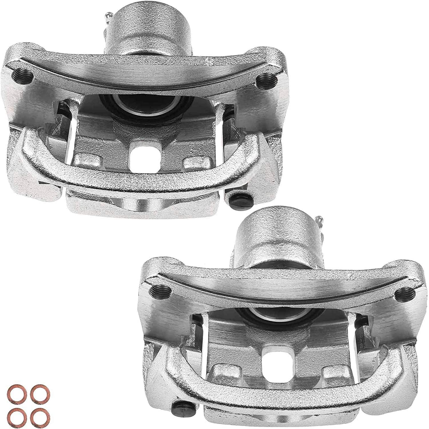 A-Premium Brake Caliper Assembly with Bracket Compatible with ...