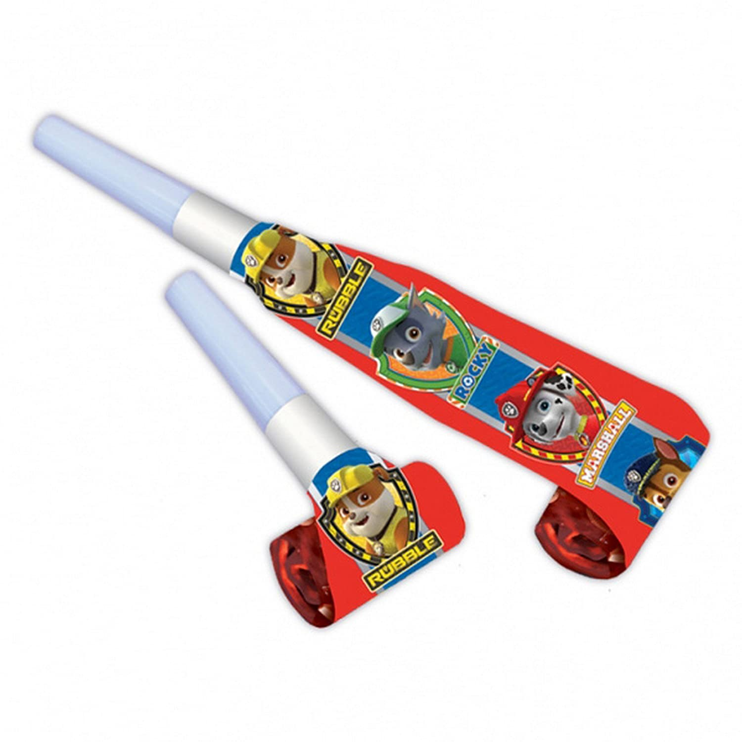 Amscan Paw Patrol Birthday Party Blowers (Pack Of 6) 999146