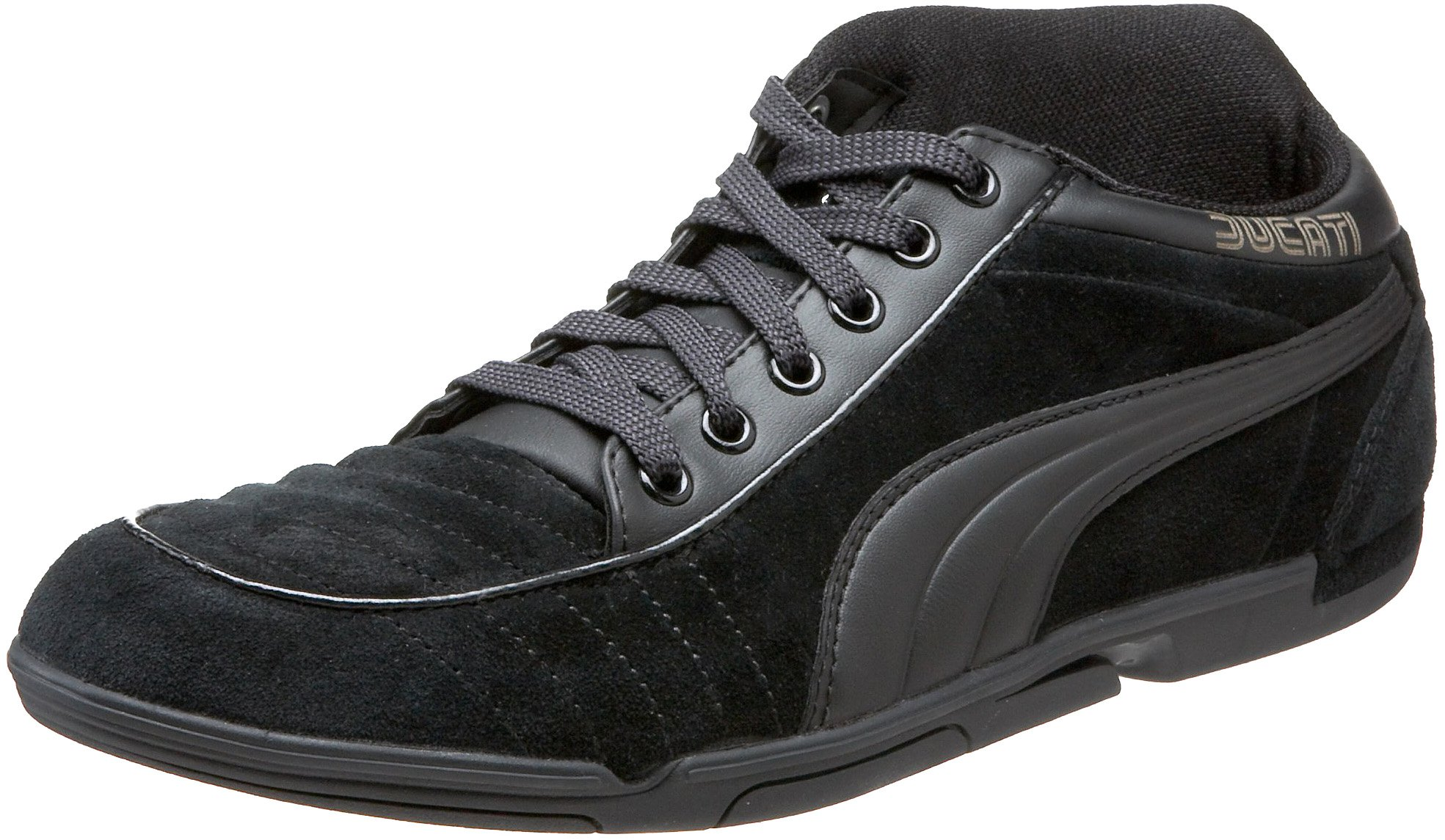 Puma 65CC Ducati Fashion Sneaker,Black/Black/White,7 D US by PUMA