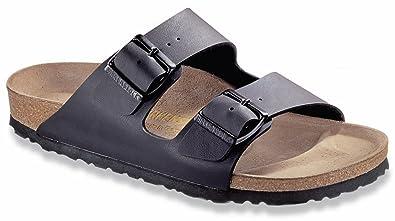Birkenstock Womens Arizona Black Leather Sandals 37 EU 203c4aa4951