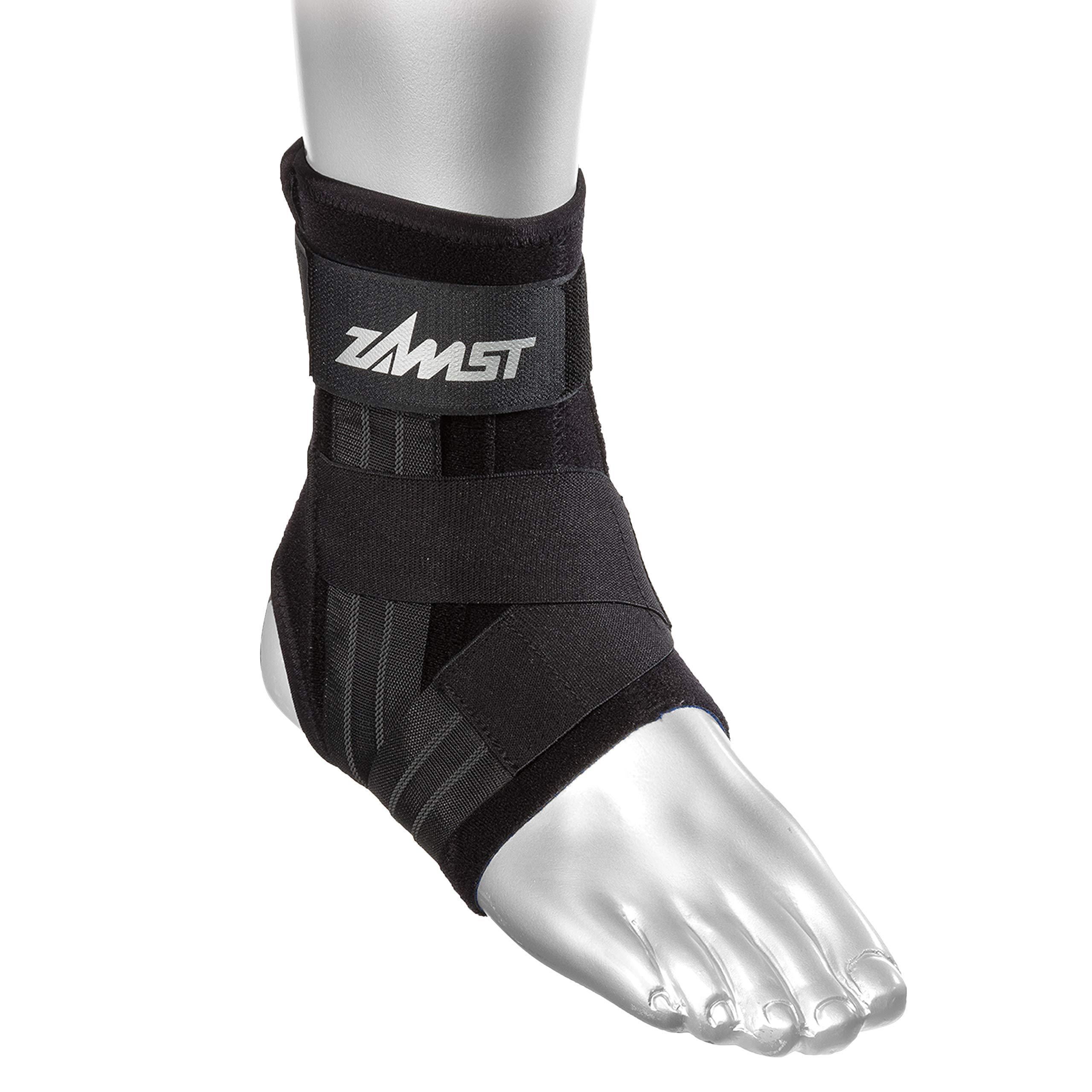 Zamst A1 Left Ankle Brace, Black, Medium by Zamst