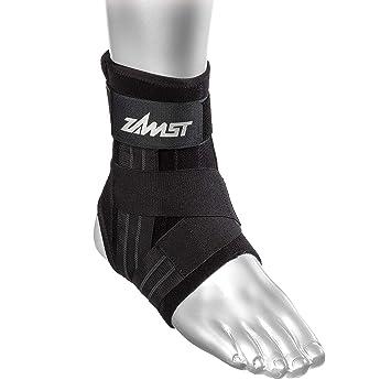 5a478cdd28ae2 Amazon.com : Zamst A1 Left Ankle Brace, Black, Medium : Sports ...