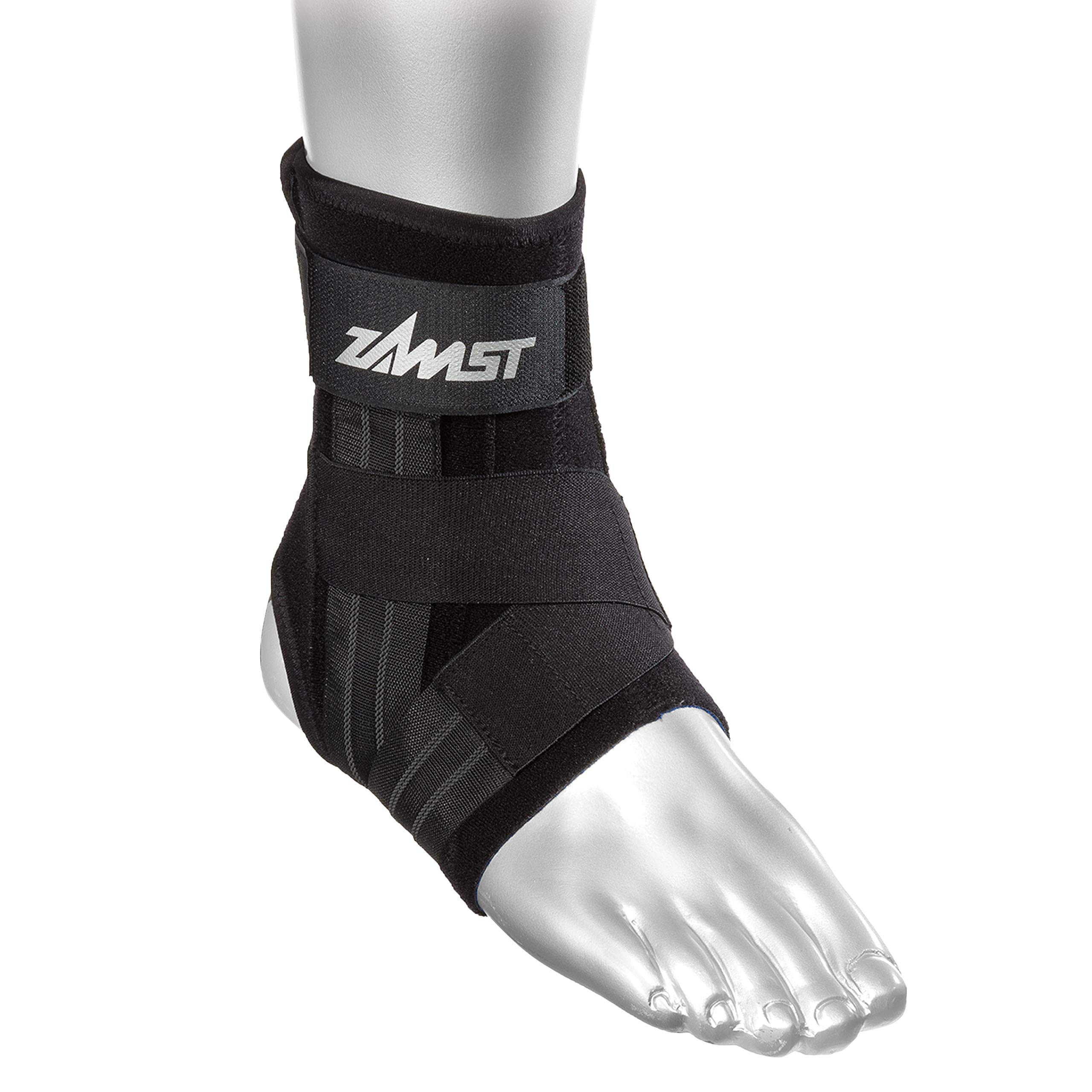 Zamst A1 Right Ankle Brace, Black, Medium