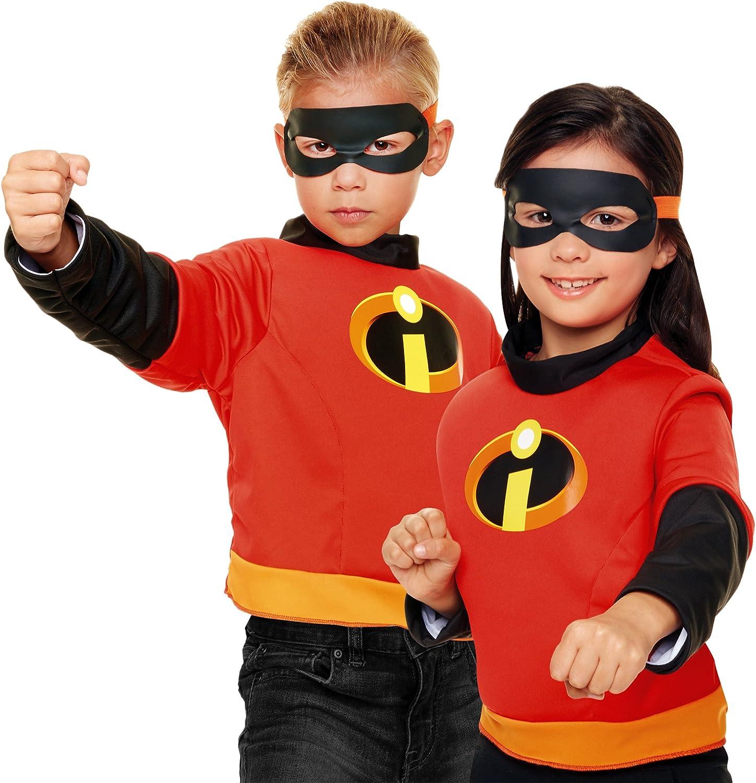 Incredibles 2 Kids Fancy Dress Super Héros Garçons Filles Disney enfant costume Outfit