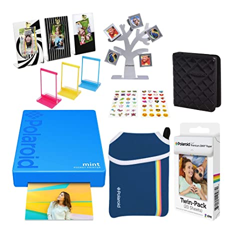Polaroid Mint Impresora de Bolsillo Inalámbrica (Azul ...