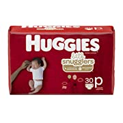 Huggies Little Snugglers Baby Diapers, Size Preemie, 30 Count (Packaging May Vary)