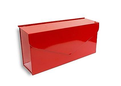 wall mount mailbox envelope. NACH MB-6915RED Envelope Mailbox - Wall Mounted Post Box, Red, 14.1 X Wall Mount Mailbox Envelope O
