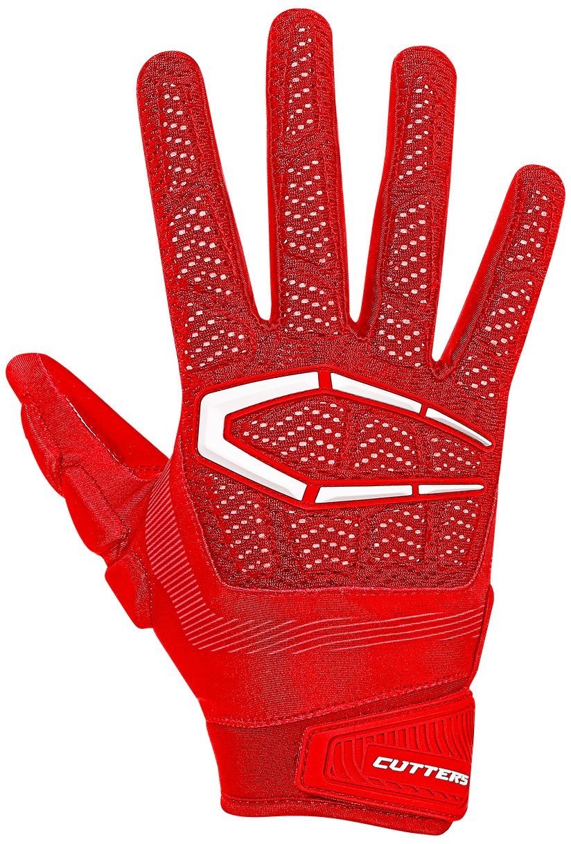 Cutters Gloves, Red, 3X-Large