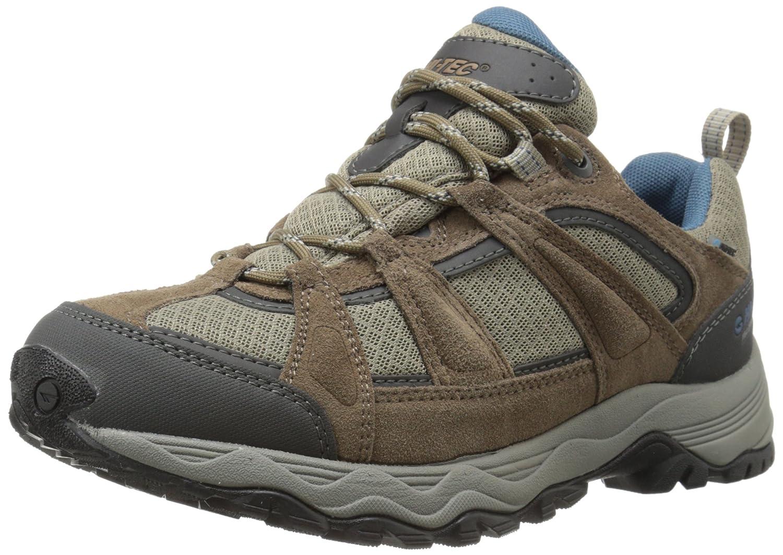 Hi-Tec Women's Perpetua Low Waterproof Hiking Shoe B00LIP6RR6 8 B(M) US|Cocoa Brown/Blue