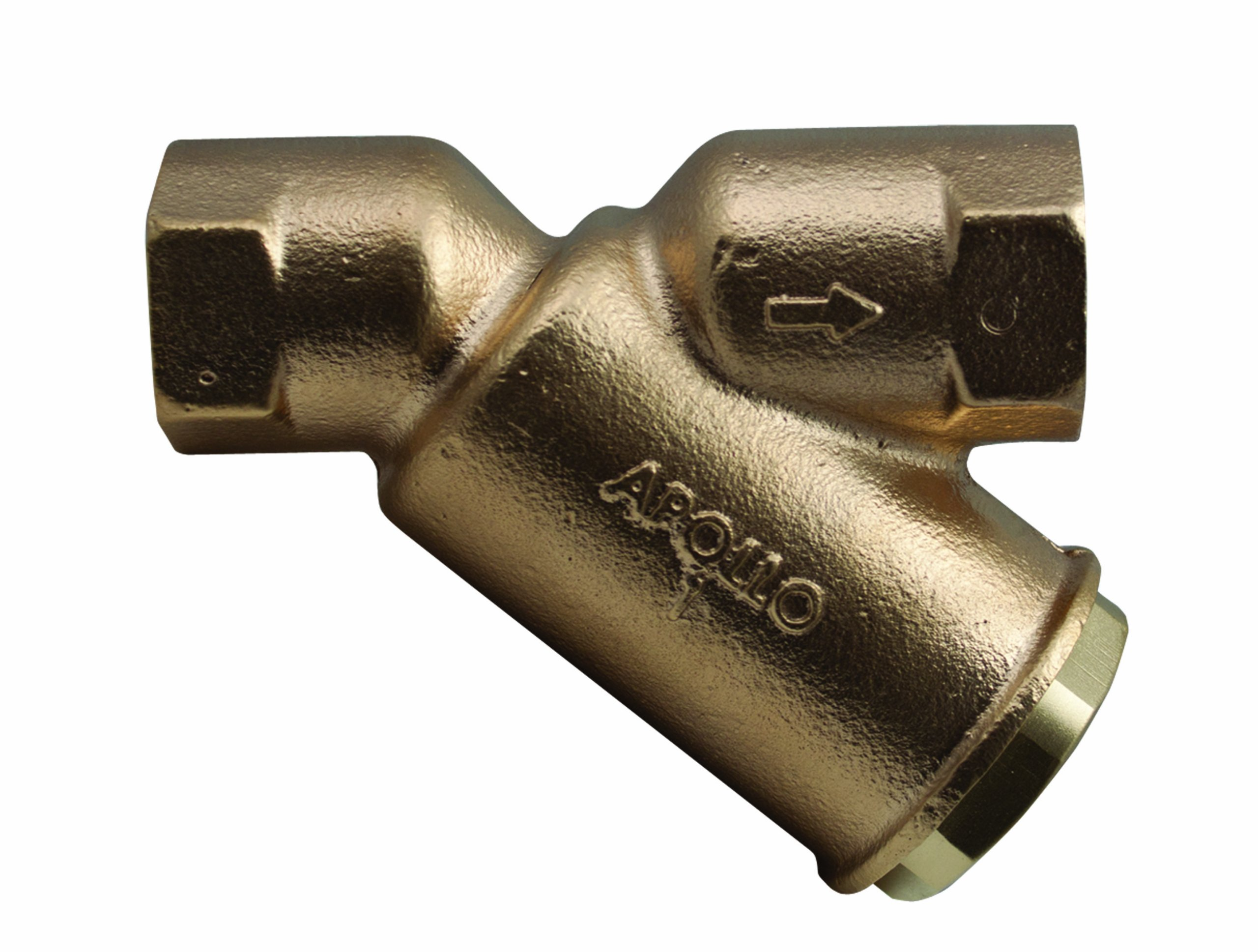 Apollo Valve 59 Series Bronze Y-Strainer, 1/2'' NPT Female, 50 Mesh Screen by Apollo Valve