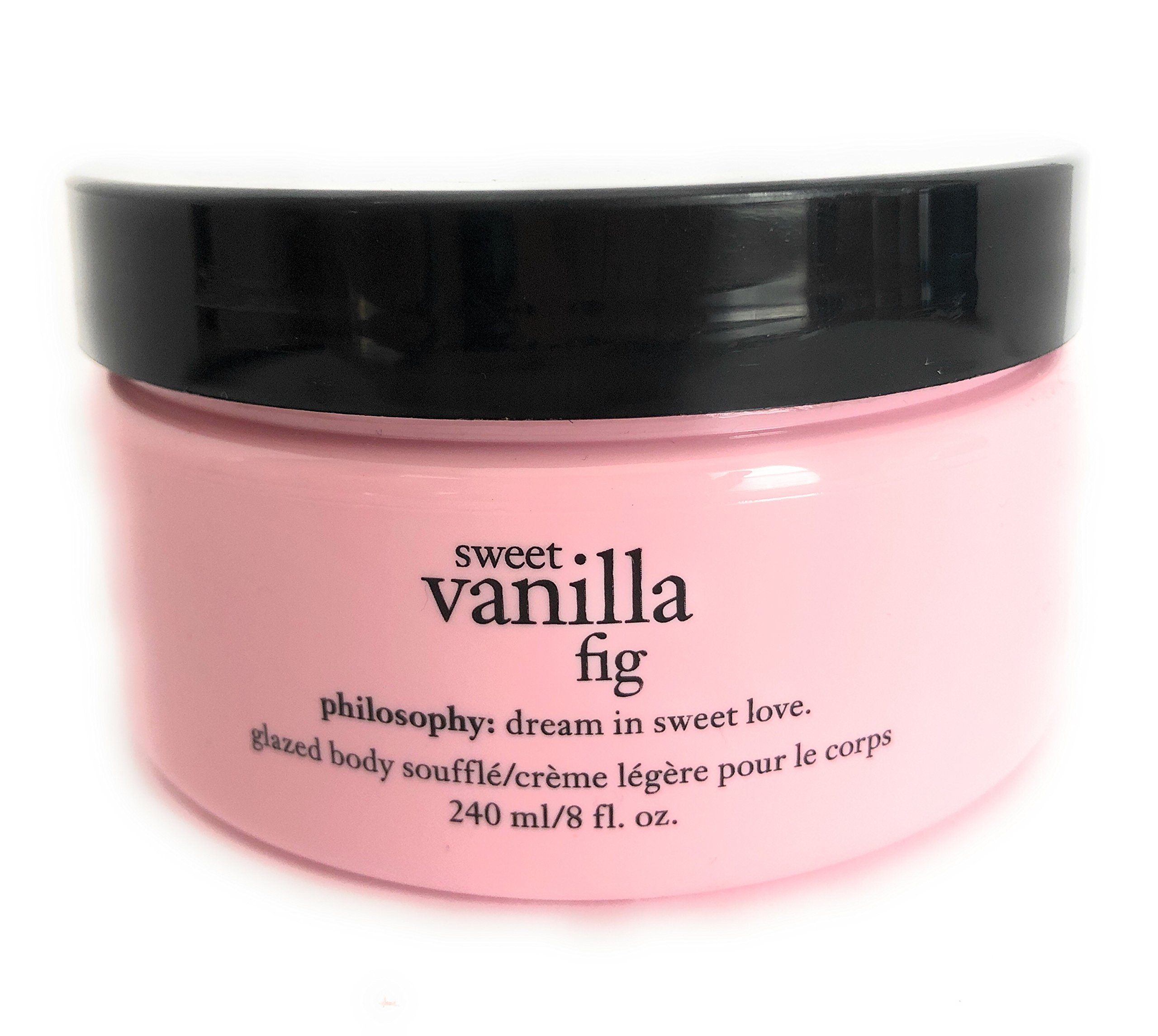 Philosophy Sweet Vanilla Fig Glazed Body Soufflé 8 oz jar