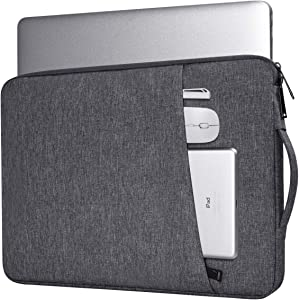14-15 Inch Laptop Case Bag Fit Acer Spin 3 14, Asus Chromebook/Vivobook 14, Surface Laptop 3/Book 2,Lenovo Flex 5 14/HP Chromebook x360, Dell XPS 15/HP Steam 14/HP Pavilion 14 Carrying Bag(Space Gray)