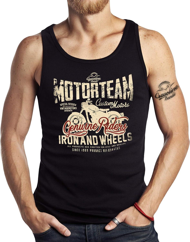 maglia muscolare Motorteam Canotta da motociclista