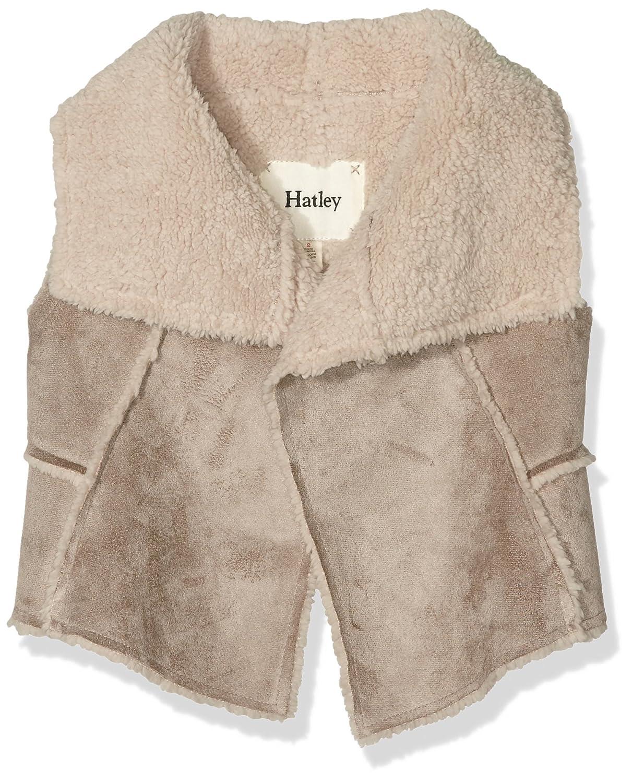 Hatley Mädchen Weste Reversible Faux Sherling Vest