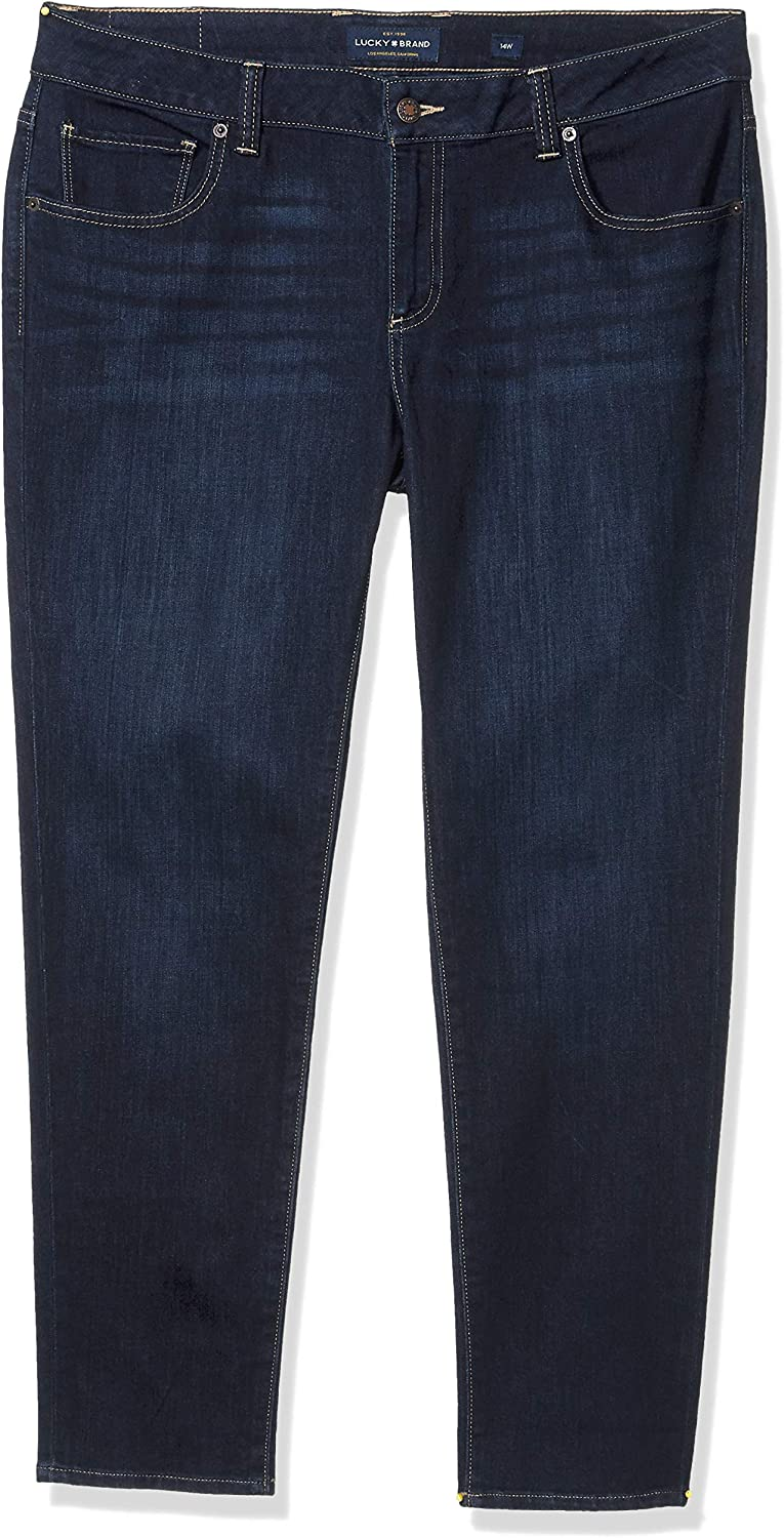 Lucky Brand Womens Plus Ginger Denim Curvy Fit Skinny Jeans