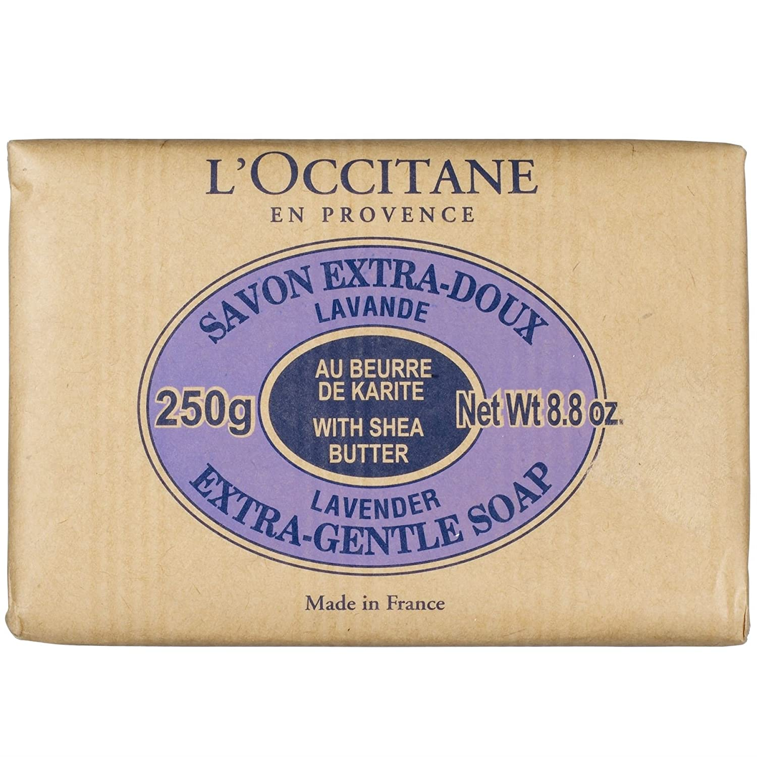 Loccitane Lavender Shea Butter Extra Gentle Soap 250g Pack Of 6 Ampamp Glory Irresistibubble Gift Set Kitchen Home