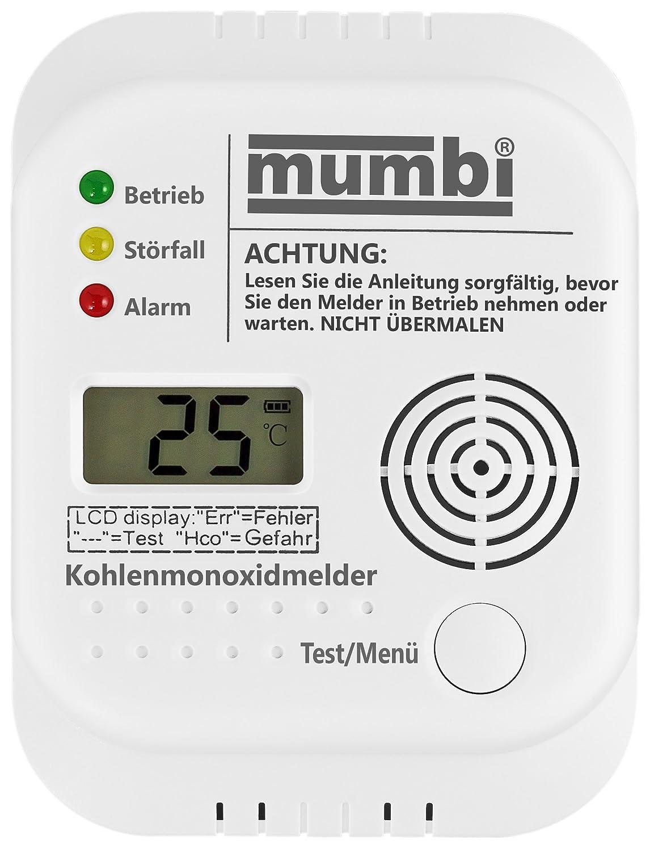 mumbi CM100 - Detector de monóxido de carbono: Amazon.es: Bricolaje y herramientas