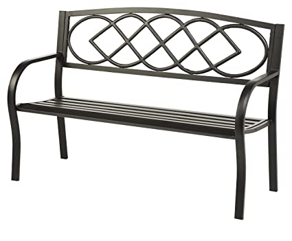 Amazon Com Celtic Knot Patio Garden Bench Park Yard Outdoor