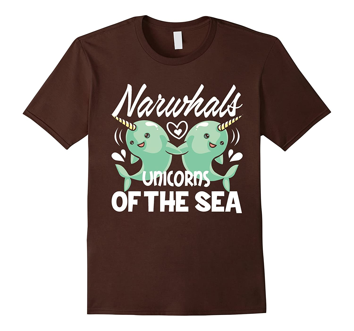 Narwhal T shirt - Love Narwhal Shirt-TD