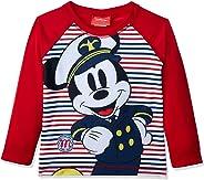Camiseta Praia Manga Longa Mickey, TipTop