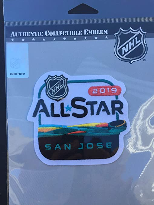 new product d7265 42ea7 Image Unavailable. Image not available for. Color  Elusive Dream Marketing  Services 2019 NHL All Star Game Patch SAN Jose ...