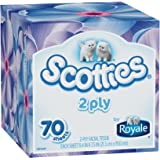 Scotties 2-Ply Facial Tissue, 70 Count (Pack of 24)