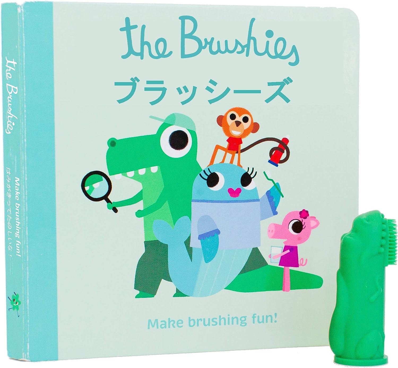 Chomp le Dino. /membre de la Team B/éb/é et Enfant Brosse /à dents et Storybook/