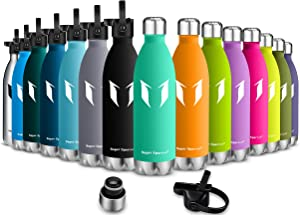 Super Sparrow Bottle Lids - Small Mouth Straw Lid - Fits Small Mouth 350ml/500ml/750ml/ Vacuum Insulated Water Flask Bottle Sizes