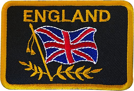 Lest We Forget Black Border 6cm x 7.5cm Embroidered Sew or Iron on Badge