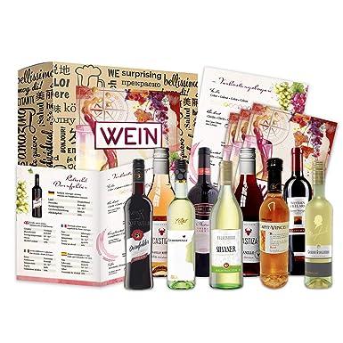 Juego de regalo de vino Regalo de vino (9 x 0.25l) | Caja de ...