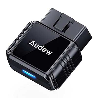 Audew OBD2 Bluetooth Scanner with Free App and Battery Test,Code Reader Car Diagnostic Tool for iOS & Android: Automotive