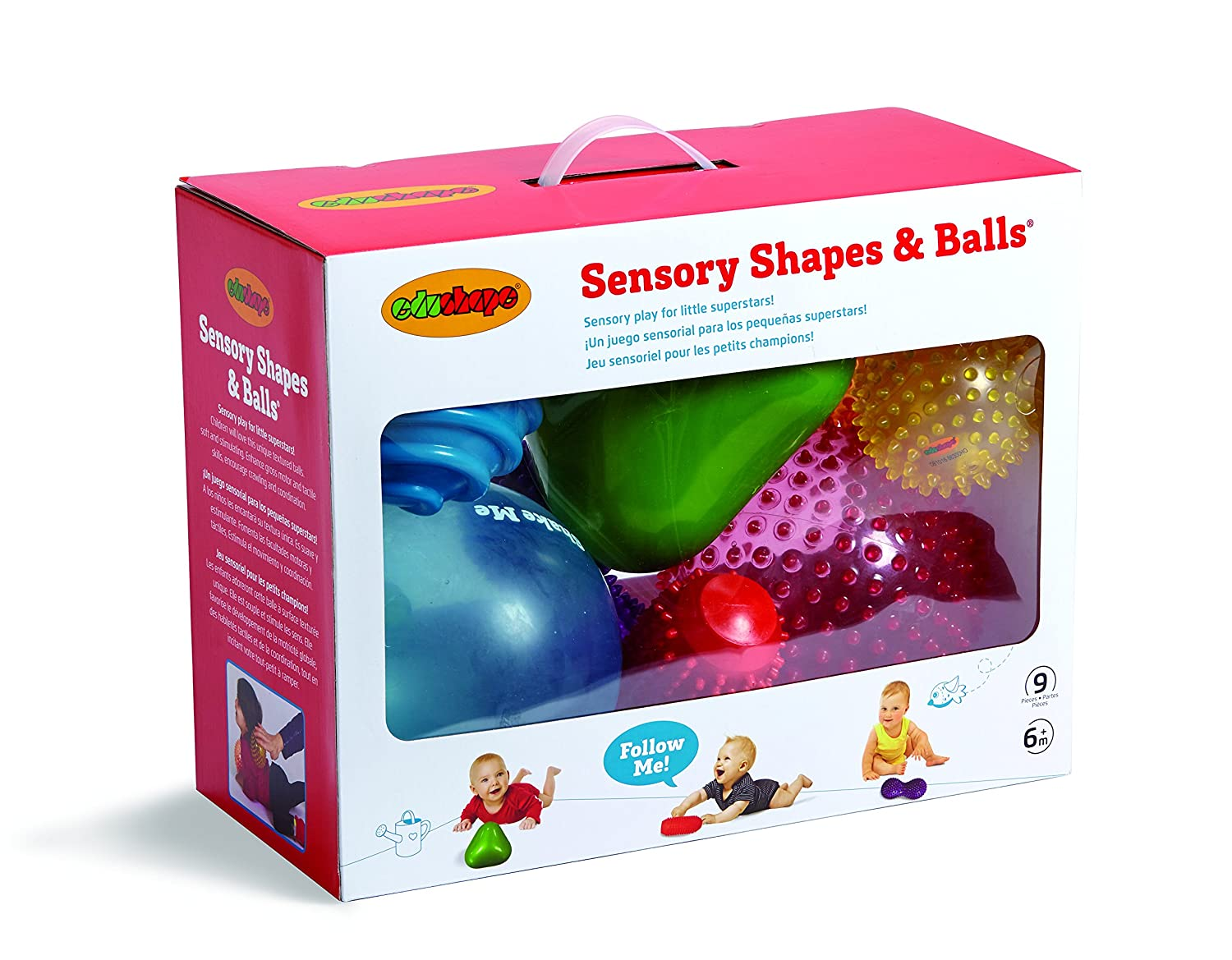 Edushape 9 Piece Sensory Ball