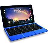 "Premium High Performance RCA Galileo Pro 11.5"" 32GB Touchscreen Tablet Computer with Keyboard Case Quad-Core 1.3Ghz Processor 1G Memory 32GB HDD Webcam Wifi Bluetooth Android 6.0-Blue"