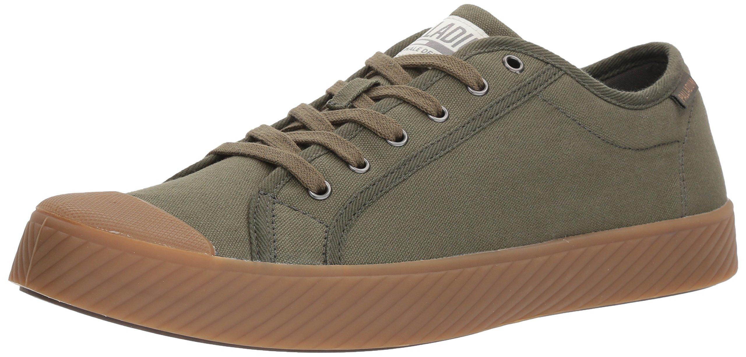 Palladium Pallaphoenix OG CVS Sneaker, Green-325, 11.5 Medium US