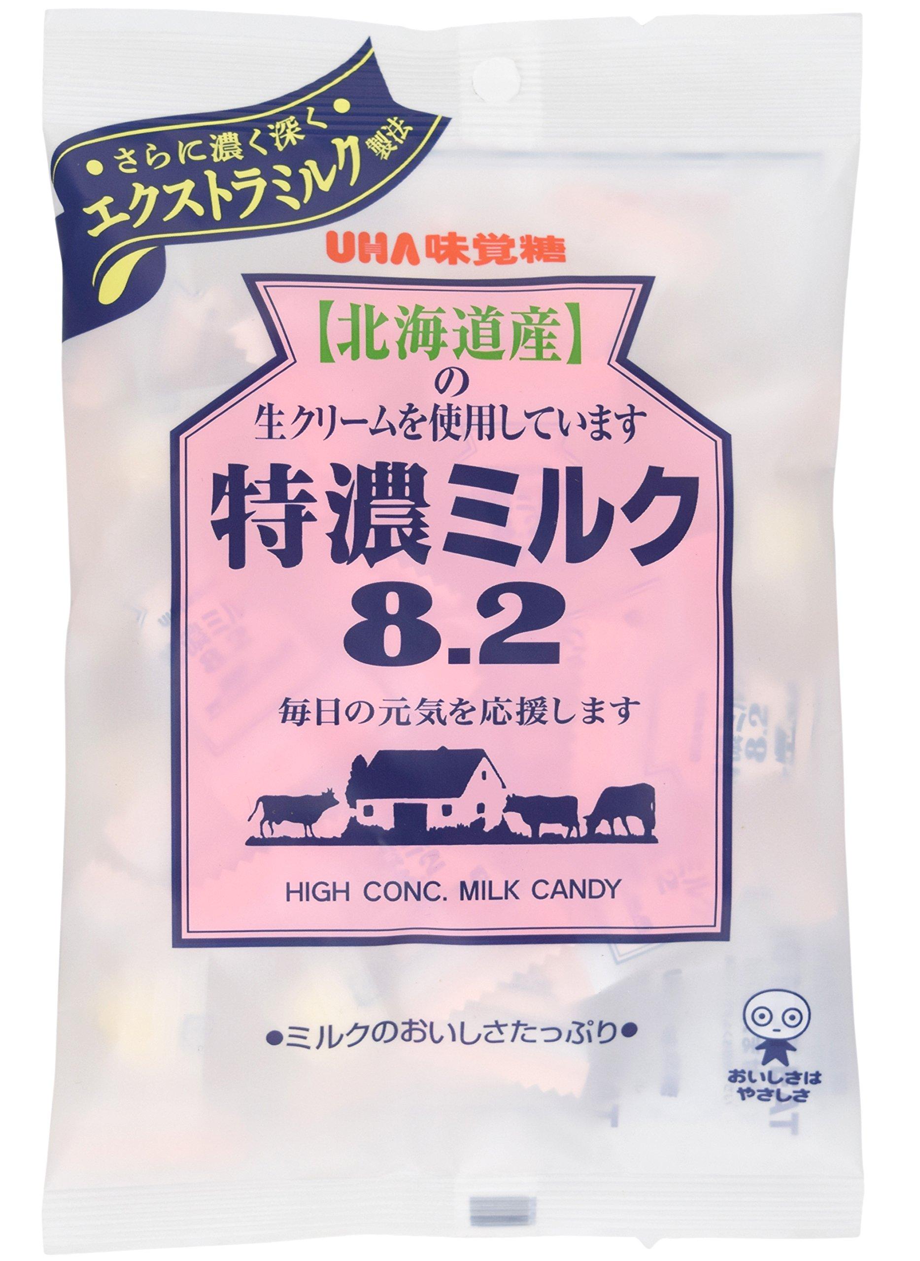 Mikakuto Tokuno Milk 8.2 Candy 3.7oz by UHA Mikakutou