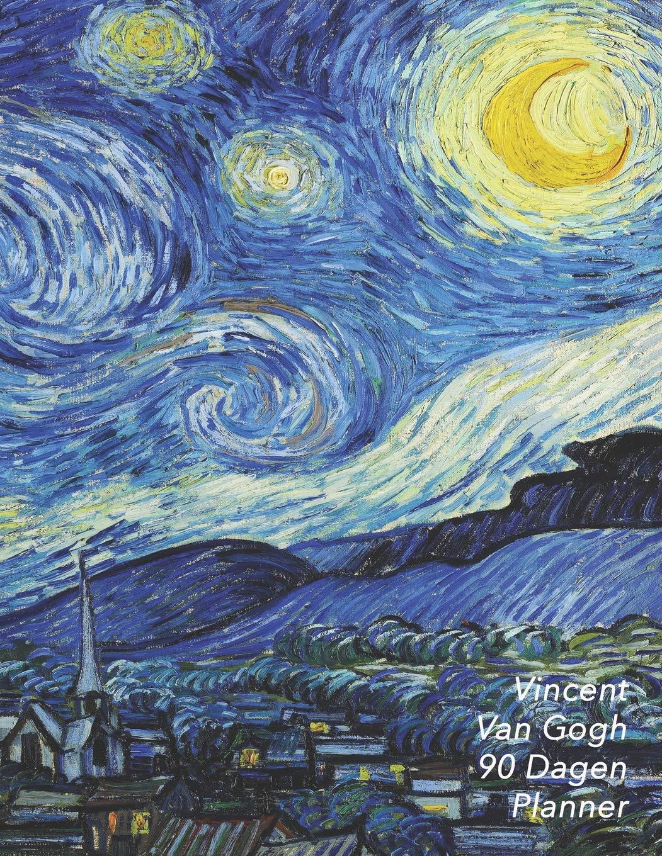 Vincent van Gogh 90 Dagen Planner: De Sterrennacht | De ...