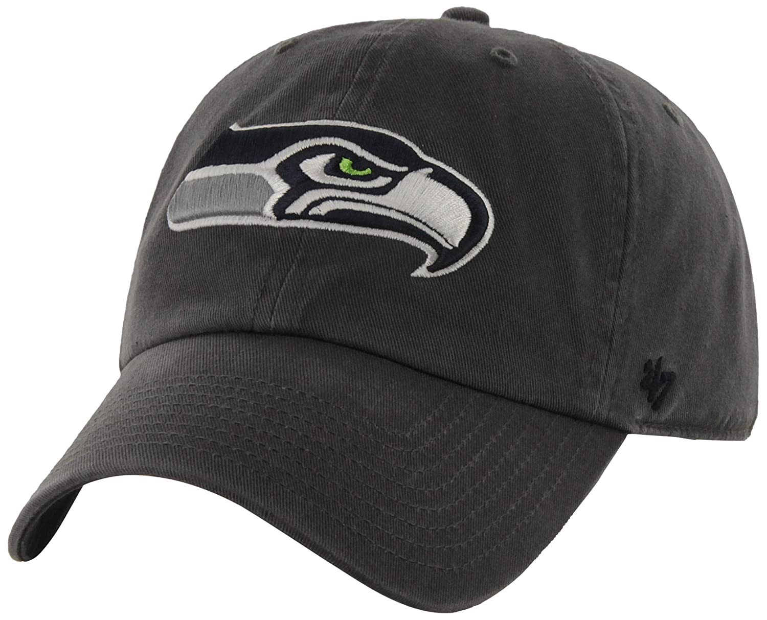 043e748a5 Amazon.com   NFL Seattle Seahawks  47 Brand Clean Up Adjustable Hat ...