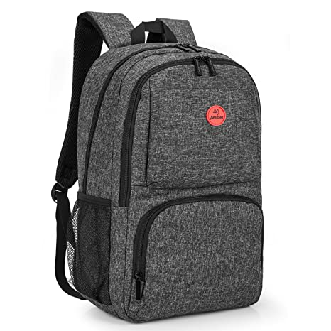 7d773a88c8e6 Amzbag Laptop backpack 15.6 Inch Computer Case Travel Rucksack Business Bag  With USB Charging Port Water