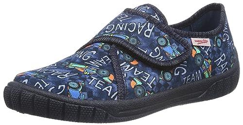Superfit Jungen Bill Flache Hausschuhe   Hausschuhe, Schuhe