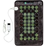 HealthyLine Heating Pad with Far Infrared Radiant Heat Technology 32in x 20in - Hot Stone Therapy - Negative Ions - 50…
