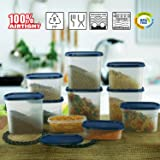 Cello Snapfresh Container Set 10 Pcs-Blue