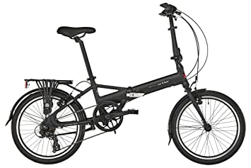 Ortler London Two - Bicicletas Plegables - Negro 2018
