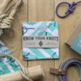 Colter Co. Know Your Knots Bandana, 100% cotton knots diagram survival bandana