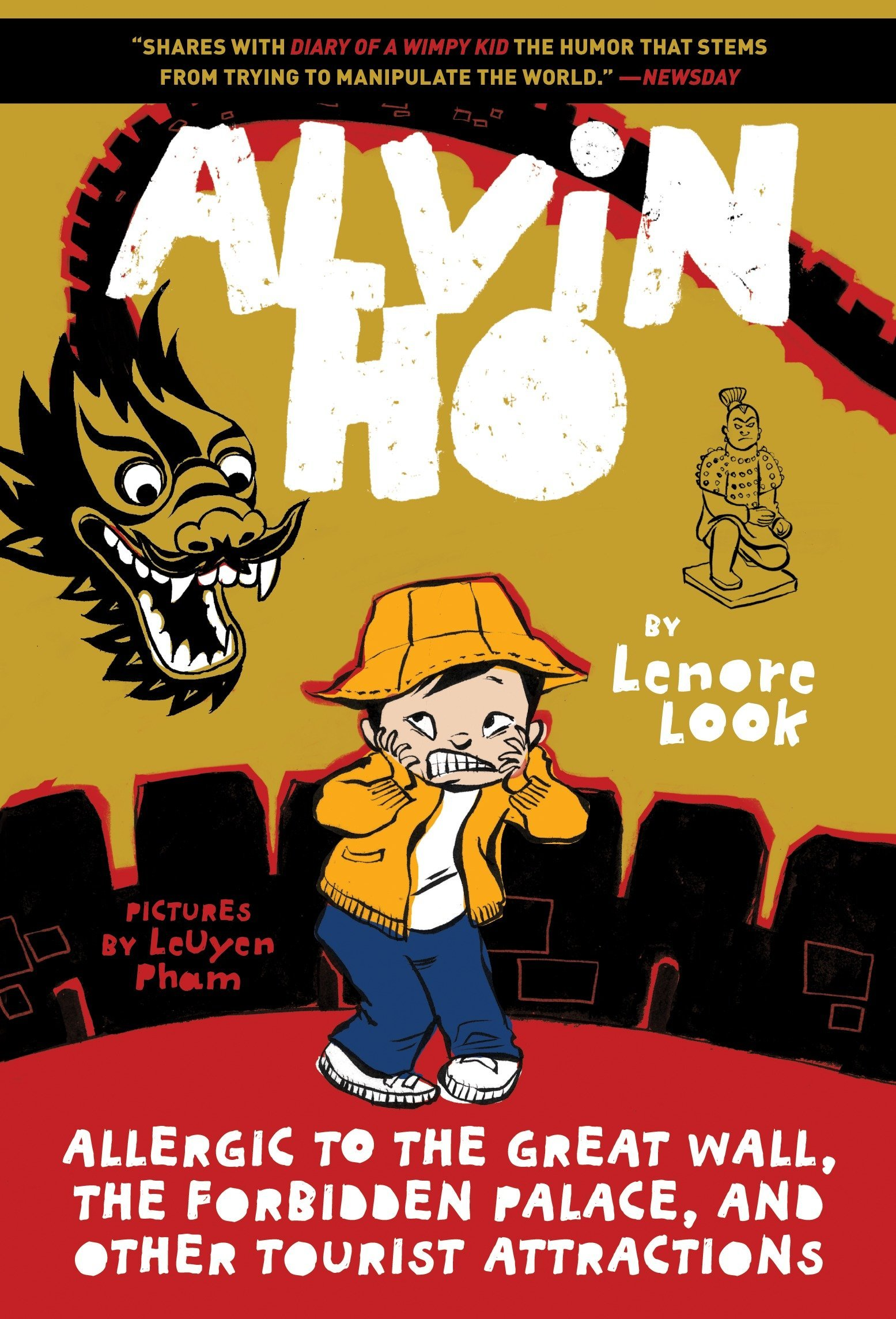 Amazon.com: Alvin Ho: Allergic to the Great Wall, the Forbidden Palace, and  Other Tourist Attractions (9780553520552): Lenore Look, LeUyen Pham: Books