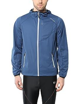 Ultrasport Chaqueta multifuncional de hombre Endy con Ultraflow 3.000, ligera y transpirable; por este motivo, ideal como chaqueta de correr, de ...