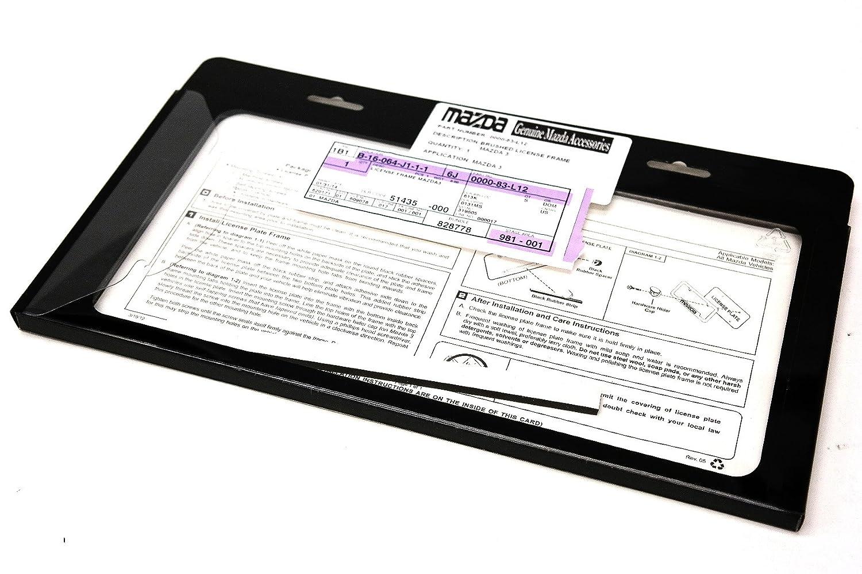 Mazda Genuine Accessories 0000-83-L12 License Plate Frame