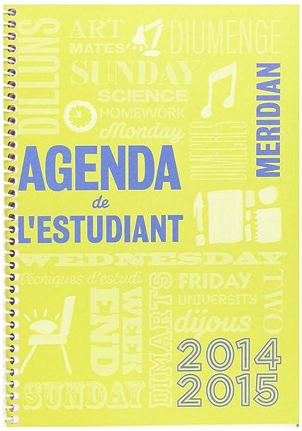 Amazon.com : ingraf A131 - Agenda Meridian A5 SV Catalan ...