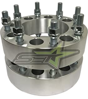 2Pc 8x6.5 To 8x180 Wheel Adapters / Spacers   Fits Most 8 Lug Chevy